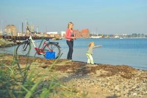 Familienurlaub auf dem Rad