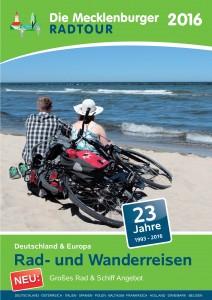 Katalog 2016 Cover MecklenburgerRadtour