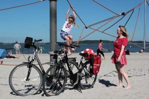 Familienurlaub auf dem Rad (Foto: Die Mecklenburger Radtour GmbH)