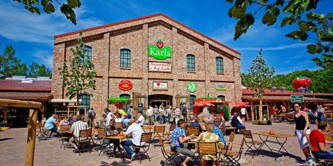 Bauernmarkt von Karls in Zirkow (Karls Erlebnis-Dorf)