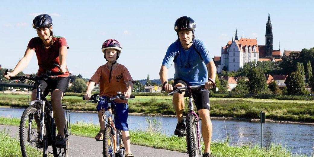 Unterwegs auf Deutschlands beliebtestem Radweg