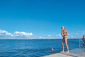 Badeurlaub im Plauer See (Tourist-Info Plau am See/Henrik Silbermann)